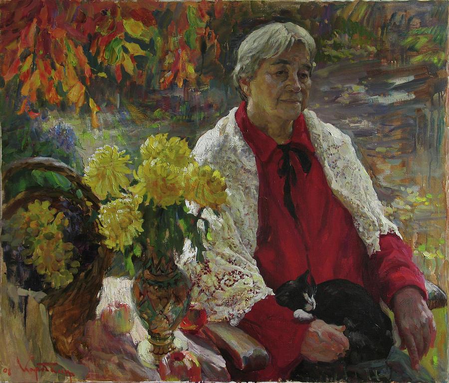 Memories Painting by Korobkin Anatoly