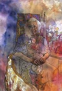Memories Of Adeline Painting by Wendy Hill