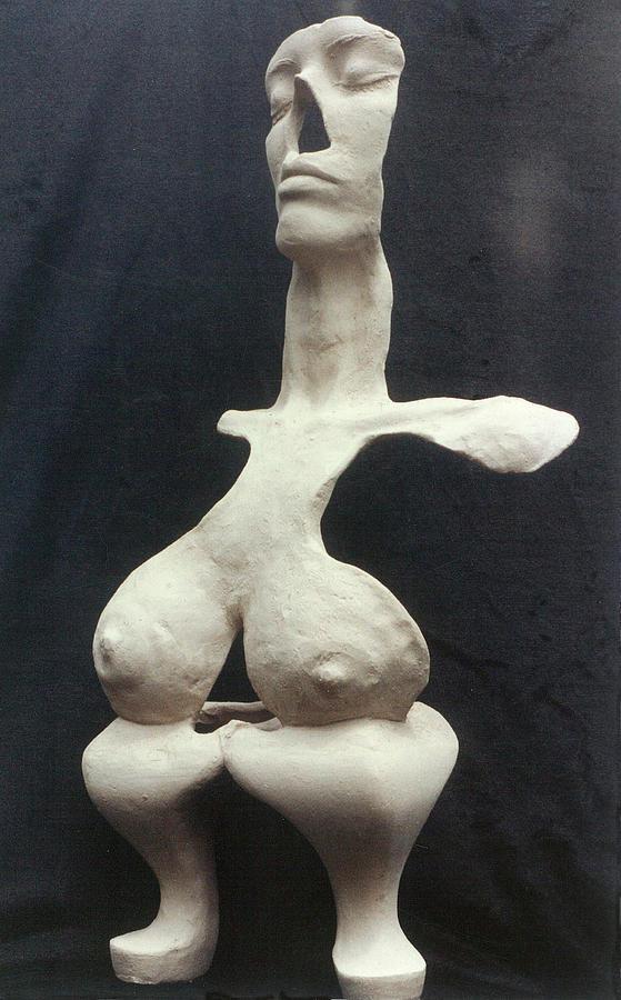 Ceramic Sculpture Sculpture - Memories Of Queen Ann by Sarah Biondo