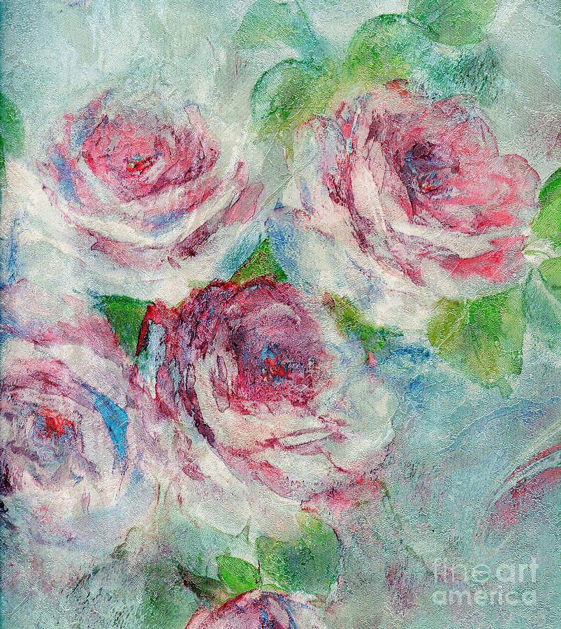 Roses Painting - Memories Of Roses by Writermore Arts