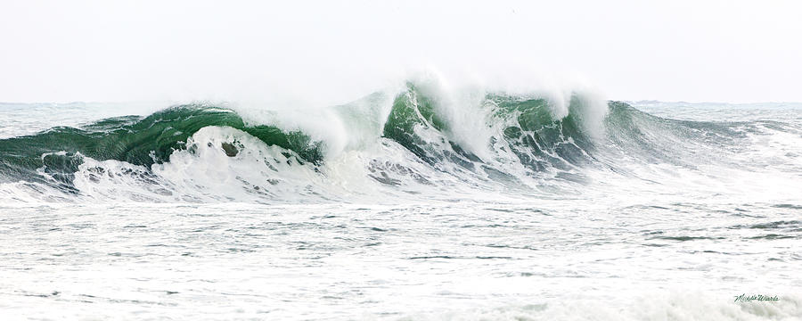 Wave Photograph - Memories Of Sandy by Michelle Wiarda