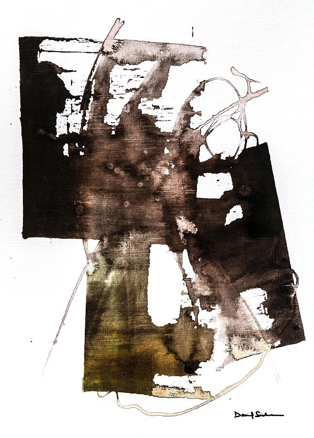 Abstract Painting - Memories Of The Future by Dan Sisken