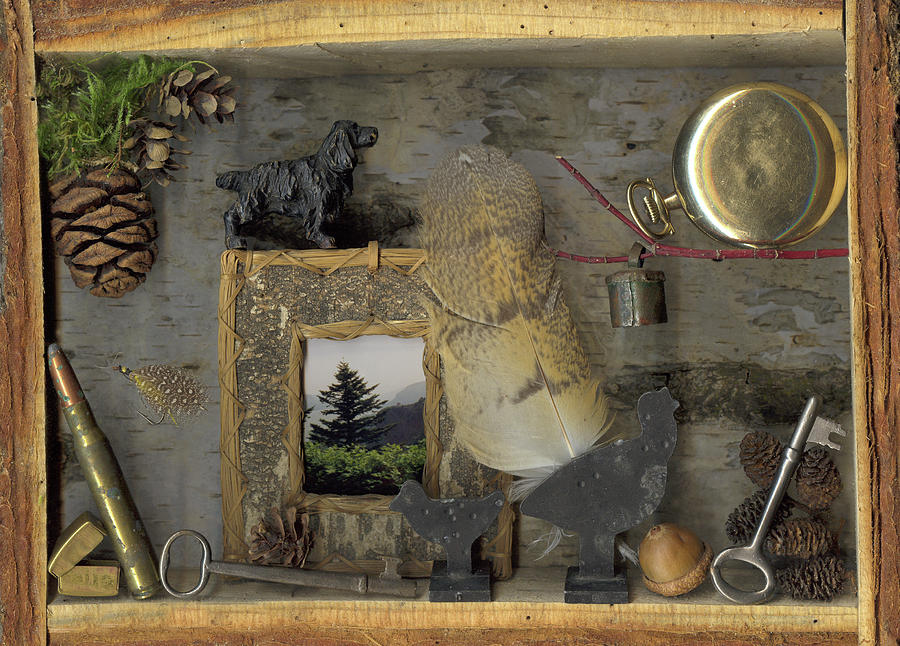 Pocket Knife Mixed Media - Memories by Sandi F Hutchins