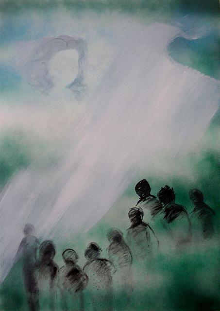 Figures Painting - Memories by Zarah David