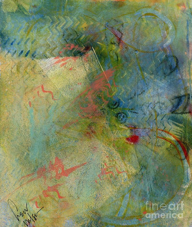Abstract Painting - Memory by Hew Wilson