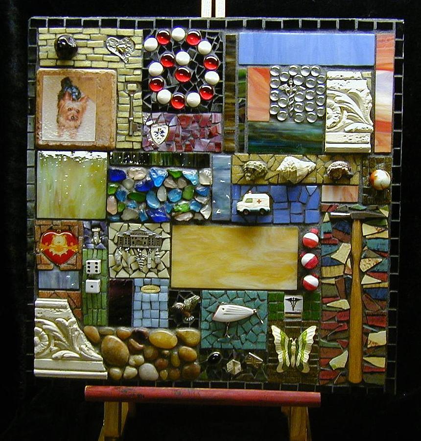 Memories Mixed Media - Memory Mosaic by Annie Thomas-Burke