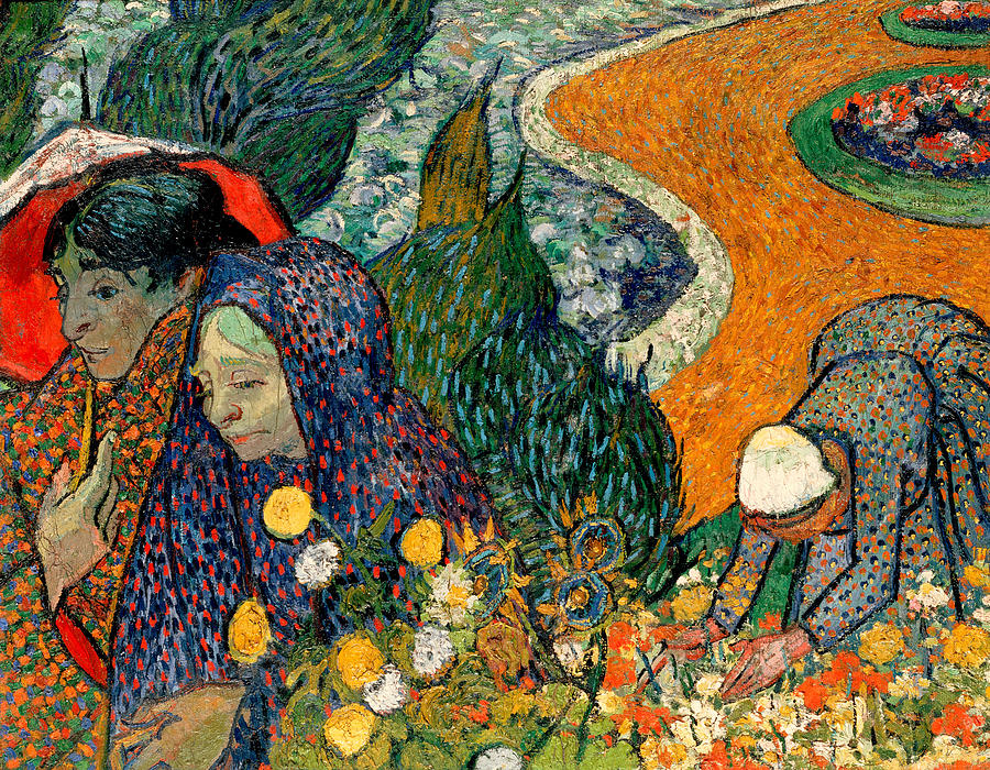 Vincent Van Gogh Painting - Memory Of The Garden At Etten by Van Gogh