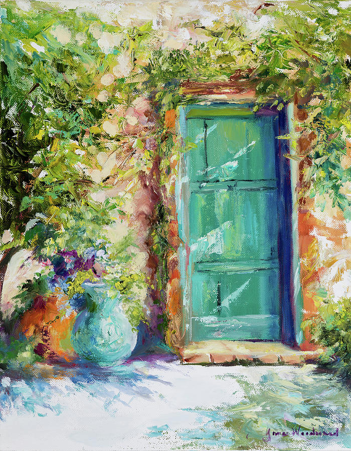 Tuscany Painting - Memory Of Tuscany by Jane Woodward