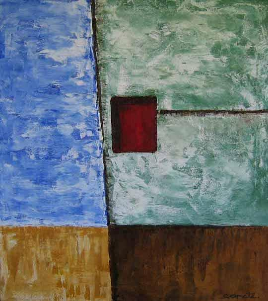 Abstract Painting - Memory by Ricardo Copete