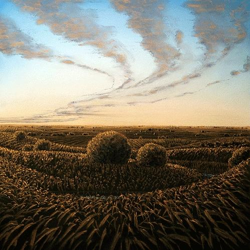 Memoryscapes Series Painting by Lisa Higby LeFevre