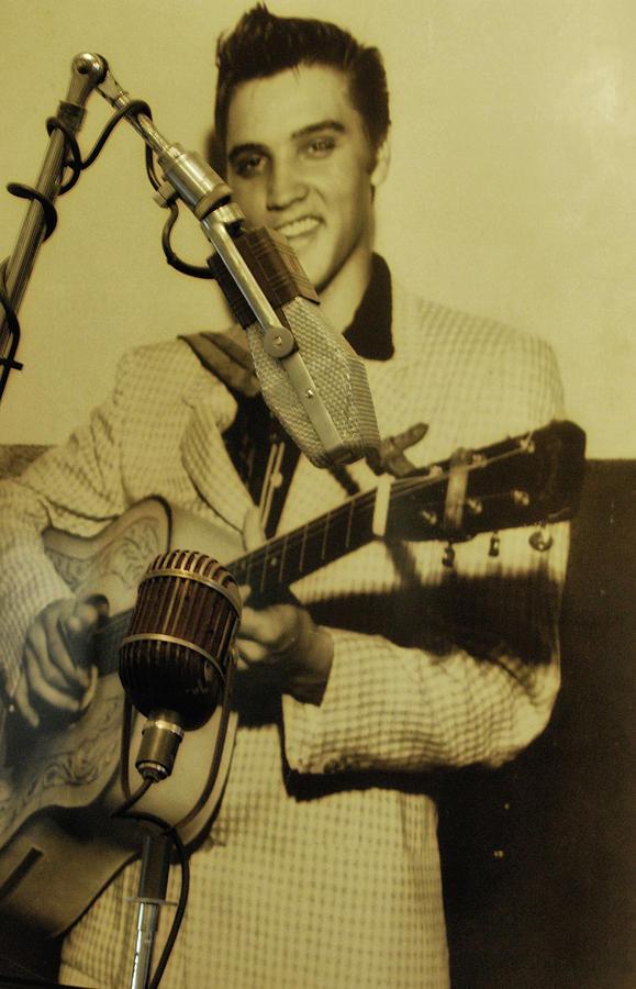 Elvis Photograph - Memphis Flash by JAMART Photography