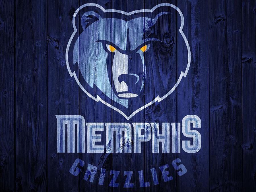 Memphis Grizzlies Digital Art - Memphis Grizzlies Barn Door by Dan Sproul