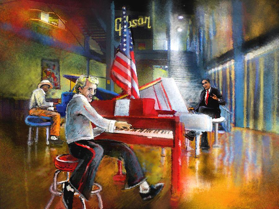 Memphis Painting - Memphis Nights 04 by Miki De Goodaboom