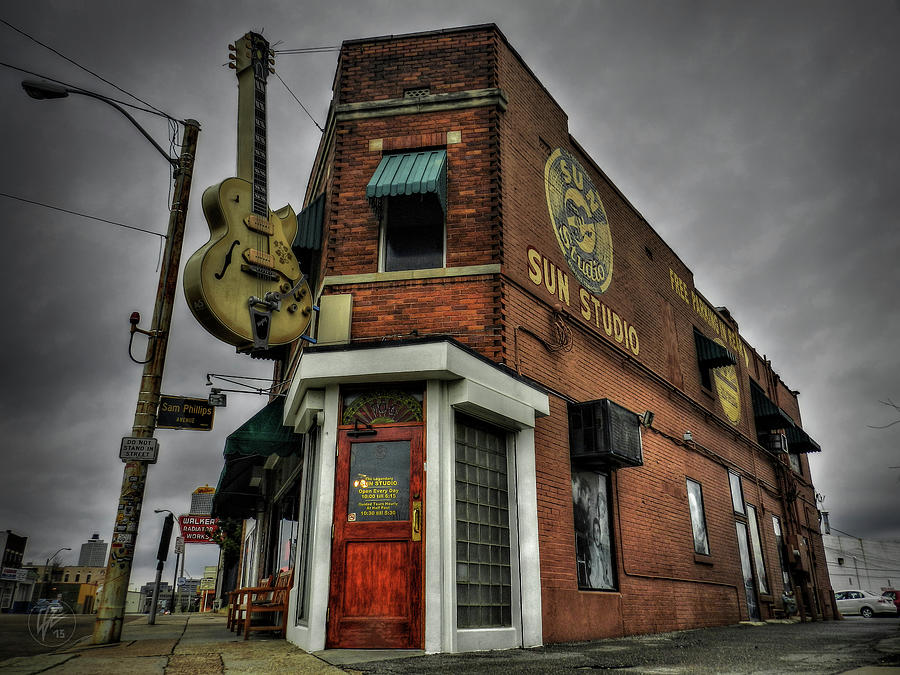 Memphis - Sun Studio 002 by Lance Vaughn