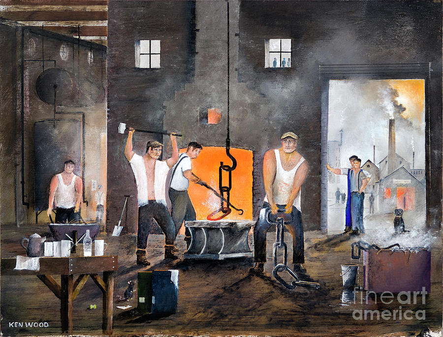 Men Of The Black Country by Ken Wood