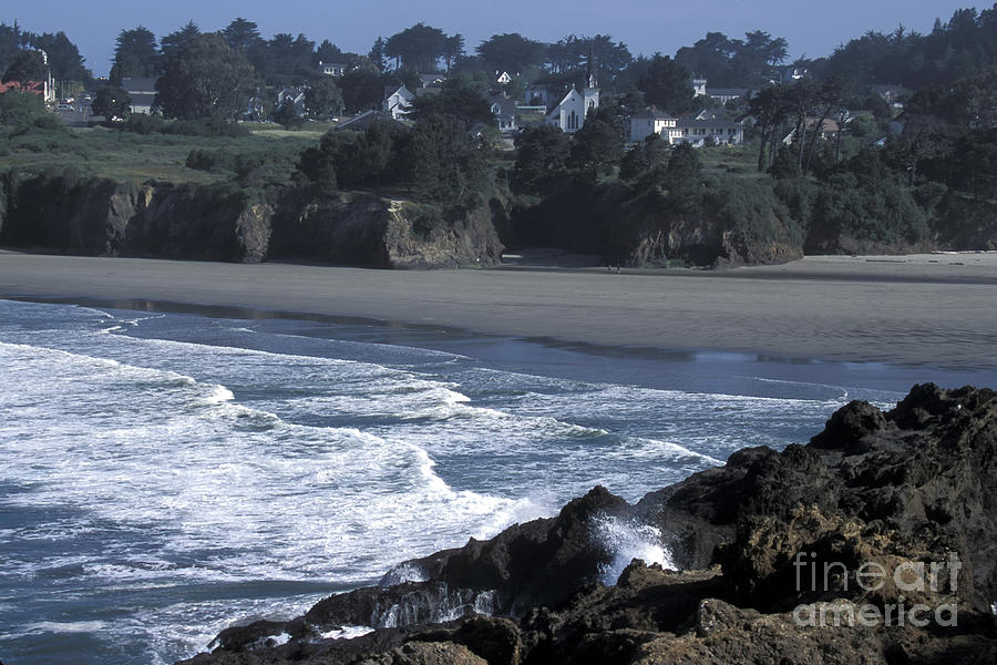 California Photograph - Mendocino  by Stan and Anne Foster