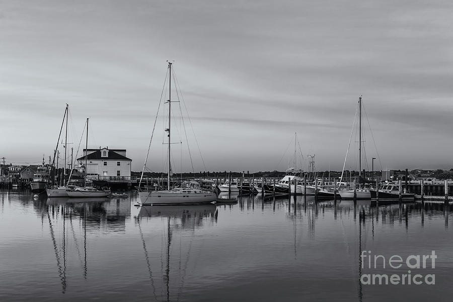 America Photograph - Menemsha Fishing Boats X by Clarence Holmes