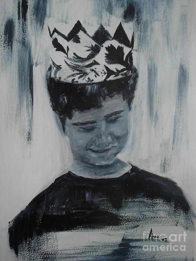 Boy Painting - Menino by Ana Picolini