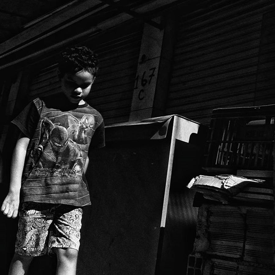 City Photograph - Menino  #boy #kid #child #people by Rafa Rivas
