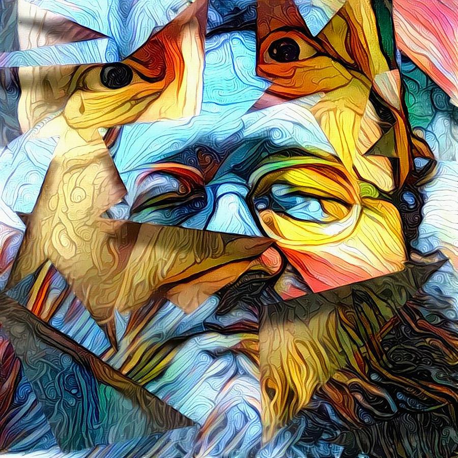 Mens Faces Digital Art