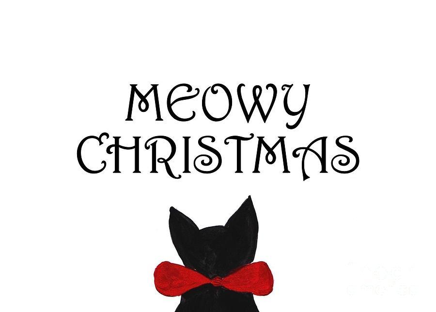 Meowy Christmas.Meowy Christmas