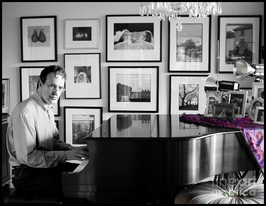 Piano Photograph - Mephistos Waltz by Madeline Ellis