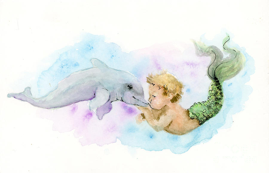 Merboy Kiss by Lauren Heller