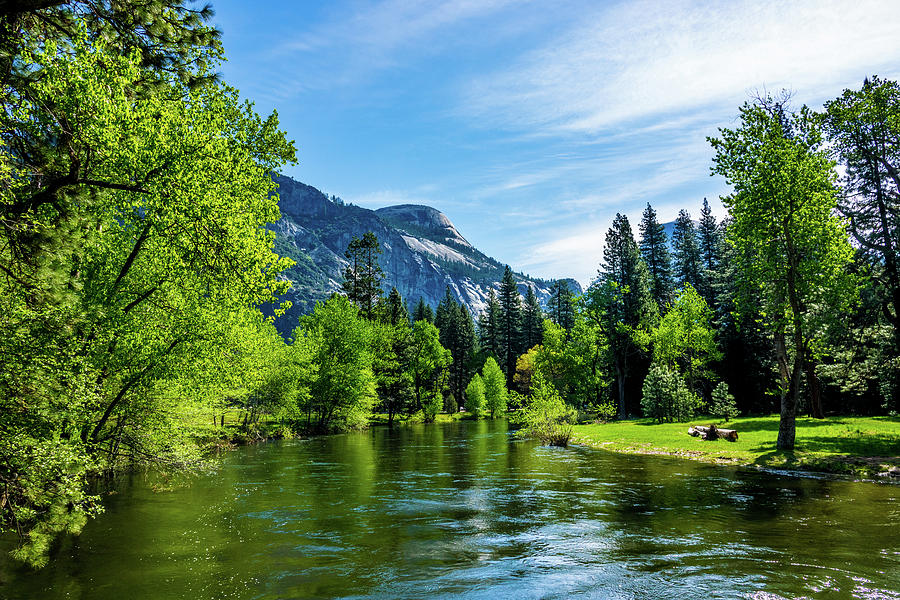 California Photograph - Merced River In Yosemite Valley by Randy Herring
