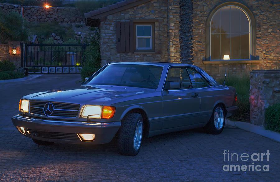Mercedes 560SEC by Gunter Nezhoda