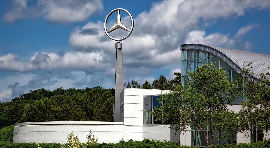 Mercedes-benz Photograph - Mercedes - Benz Plant by Mountain Dreams