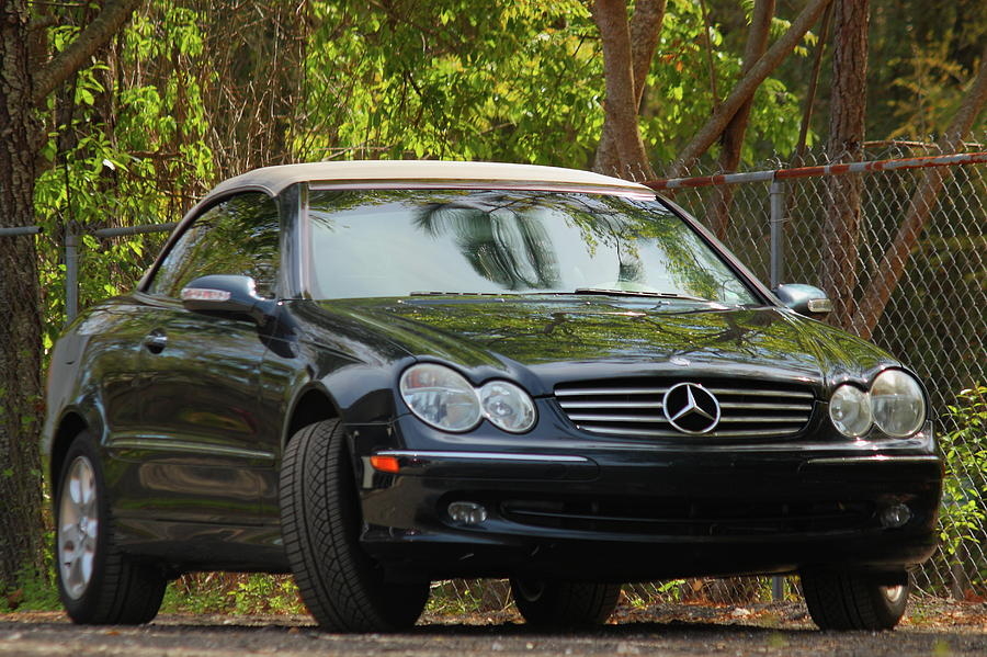 Car Photograph - Mercedes by Jamie Smith