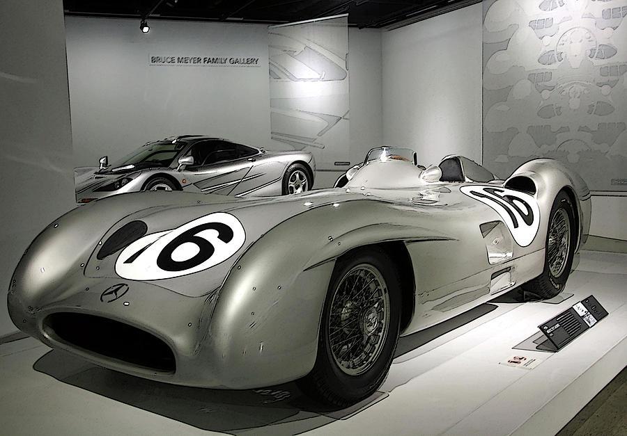 Mercedes Racer by Karol Blumenthal