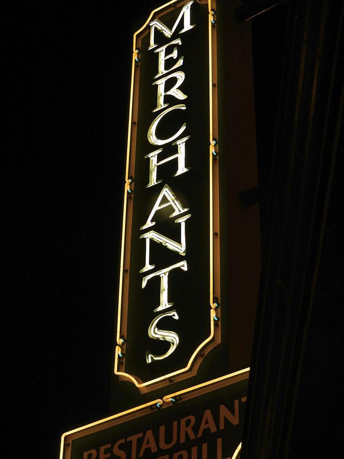 City Photograph - Merchants by Kelly E Schultz