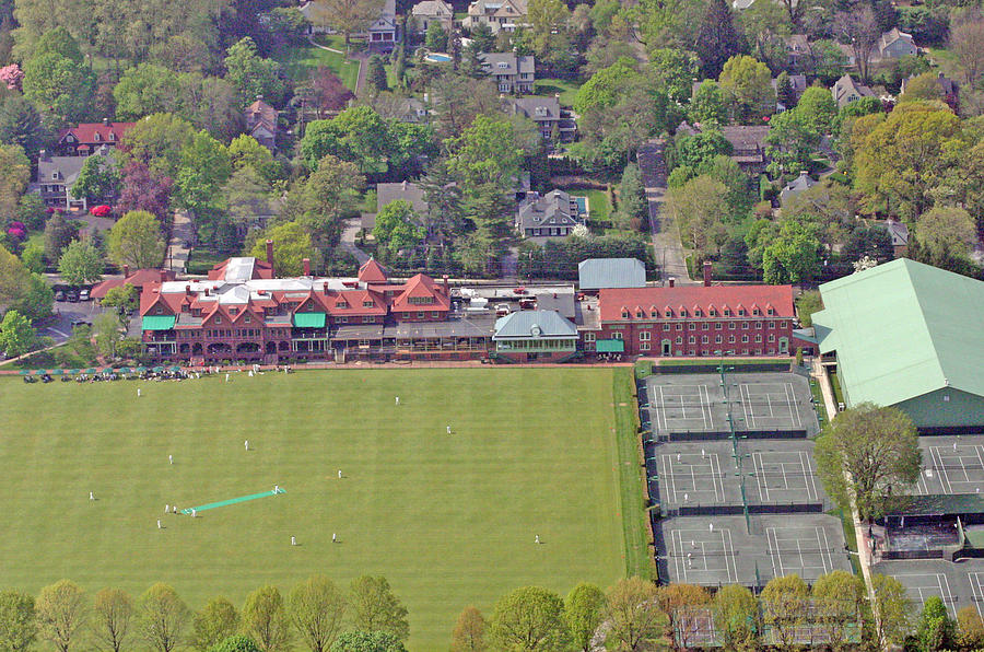 Merion Cricket Club Photograph - Merion Cricket Club Philadelphia Cricket Club by Duncan Pearson