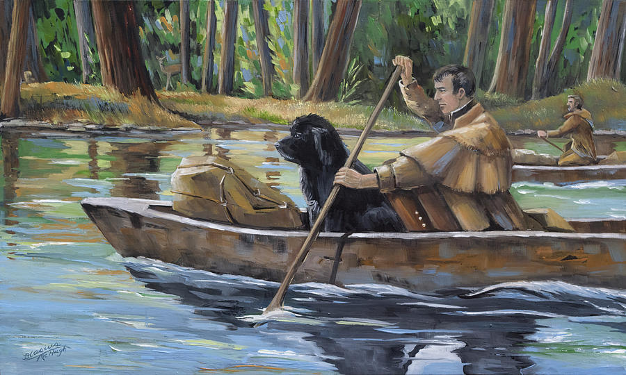 Lewis And Clark Painting - Meriwether by Paula McHugh