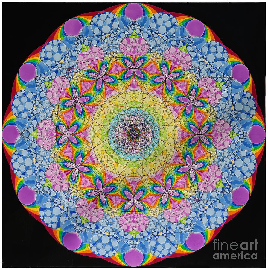 Merkaba Chakra 2 Painting by Nofirstname Aurora