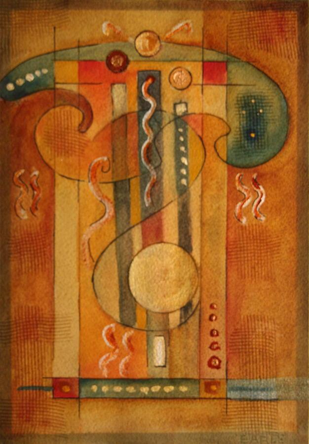 Archetype Painting - Merlin by Dan Earle