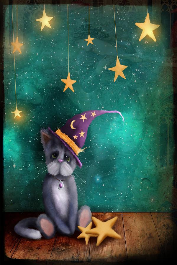 Merlin The Moggy Cat by Joe Gilronan