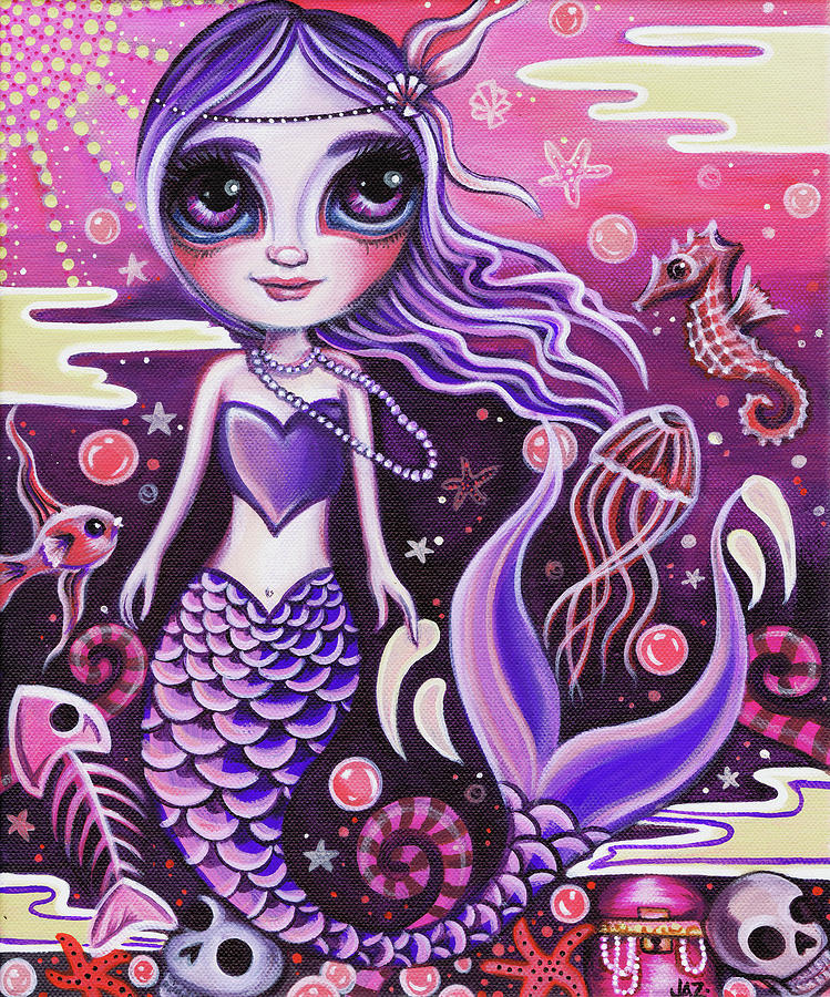 Mermaid at Dusk by Jaz Higgins