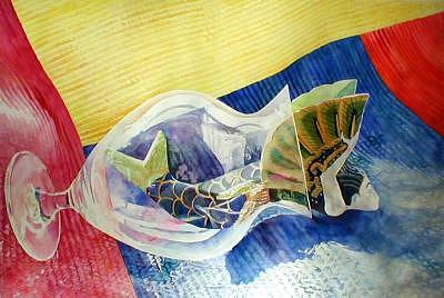 Realism Painting - Mermaid by Doug E L Haynes