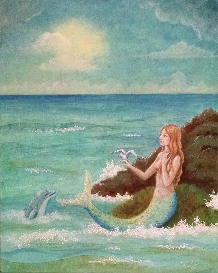 Mermaid Dreams by Bernadette Wulf