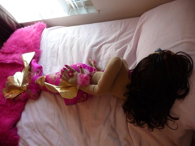 Bed Sculpture - Mermaid In Bed by Cassandra George Sturges