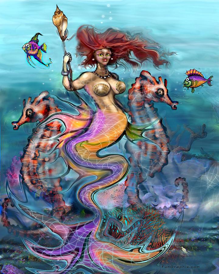 Mermaid by Kevin Middleton