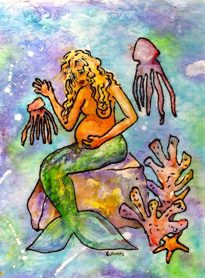 Mermaid Love by Gloria Avner