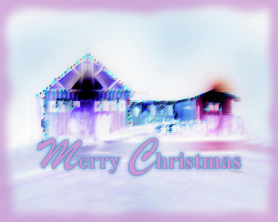 Inspiration Photograph - Merry Christmas #181 by Barbara Tristan