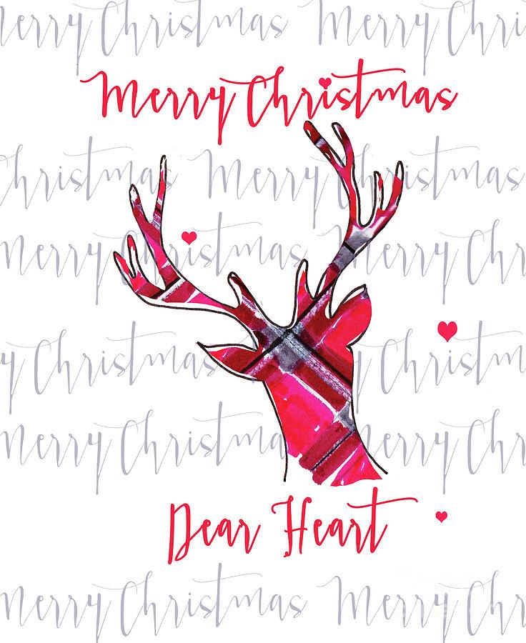 Merry Christmas Dear Heart Photograph by Nancy Harrison