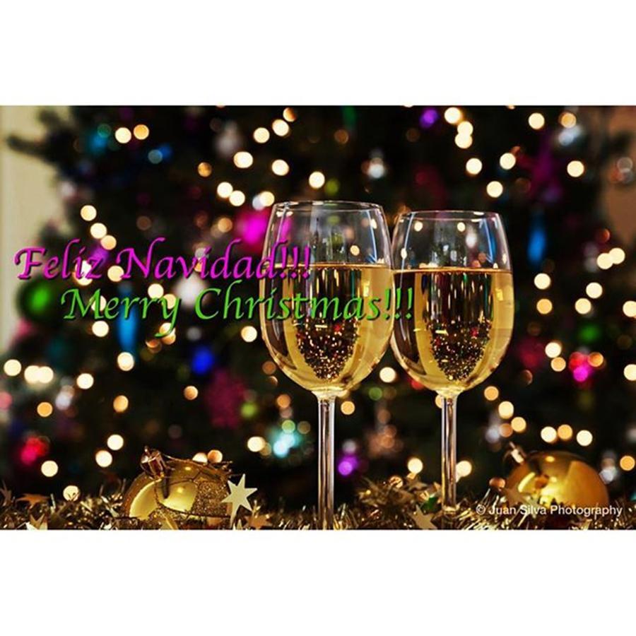 Cheers Photograph - Merry Christmas! #juansilvaphotos by Juan Silva