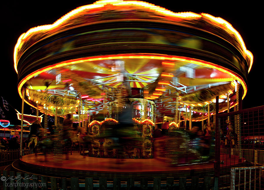 Merry-go-round by Beverly Cash