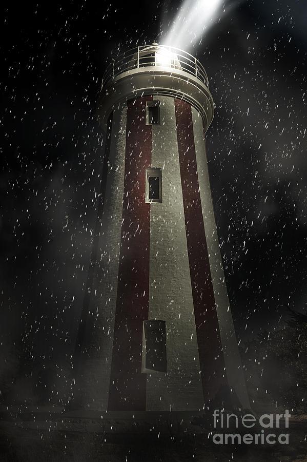 Lighthouse Digital Art - Mersey Bluff Lighthouse In Devonport. Fine Art by Jorgo Photography - Wall Art Gallery