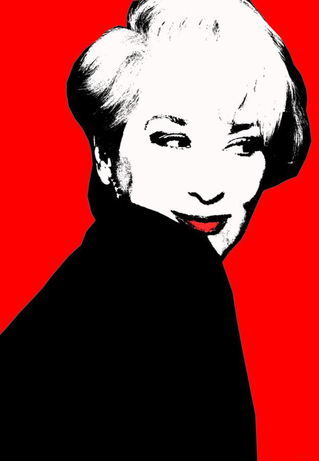 Meryl Streep Digital Art By Nazan Cigdem